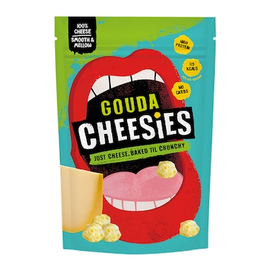 Cheesies Gouda Crunchy Popped Cheese 60g