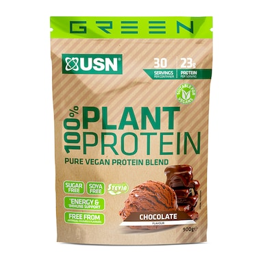 USN 100% Plant Protein Chocolate 900g