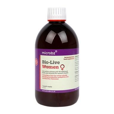 Microbz Bio-Live Womens 475ml Formula