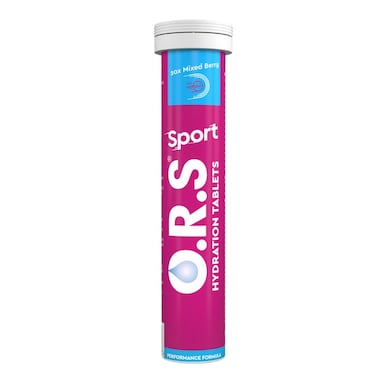 O.R.S Sport Hydration Tablets Berry