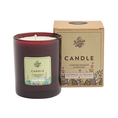 The Handmade Soap Company Lavender, Rosemary, Thyme & Mint Soy Candle 160g