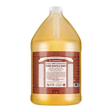 Dr Bronner's Eucalyptus Pure-Castile Liquid Soap 3.79l