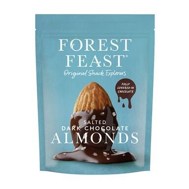 Forest Feast Salted Dark Chocolate Almonds 120g