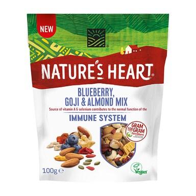 Nature's Heart Blueberry, Goji & Almond Immune System Mix 100g