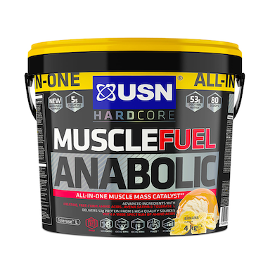 USN Muscle Fuel Anabolic All-In-One Shake Banana 4kg