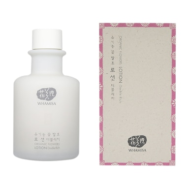 Whamisa Organic Flowers Double Rich Lotion155ml