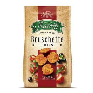 Maretti Tomato, Olives & Oregano Bruschetta Chips 150g