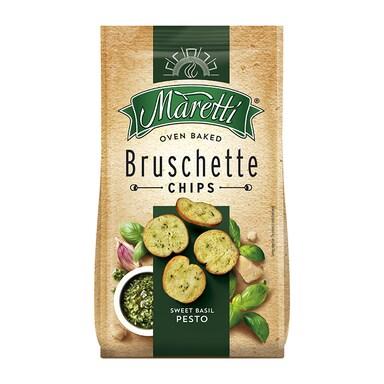 Maretti Sweet Basil Pesto Bruschetta Chips 150g