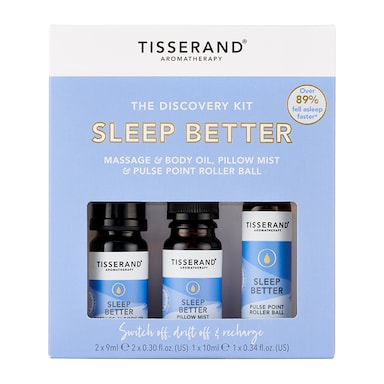 Tisserand Sleep Discovery Kit 2x 9ml, 1x 10ml