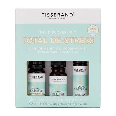 Tisserand De-Stress Discovery Kit 2x 9ml, 1x 10ml