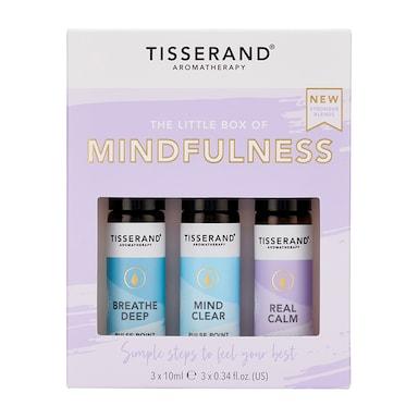 Tisserand Little Box of Mindfulness Rollerball Kit 3x10ml