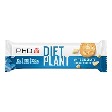 PhD Nutrition Diet Plant Bar White Chocolate Cookie Dough 55g