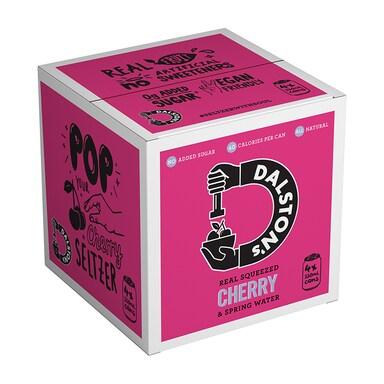 Dalston's Cherry Seltzer Multipack 4 x 330ml