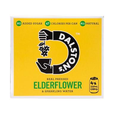 Dalston's Elderflower Seltzer Multipack 4 x 330ml