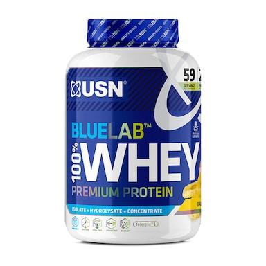 USN Blue Lab Whey Premium Protein Powder Banana 2kg