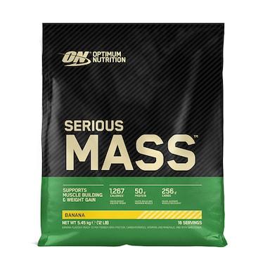 Optimum Nutrition Serious Mass Powder Banana 5.4kg