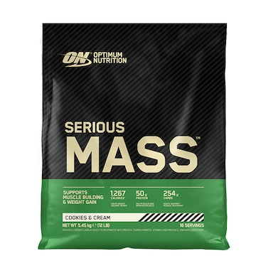 Optimum Nutrition Serious Mass Powder Cookies & Cream 5.4kg