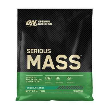 Optimum Nutrition Serious Mass Powder Chocolate Mint 5.5kg