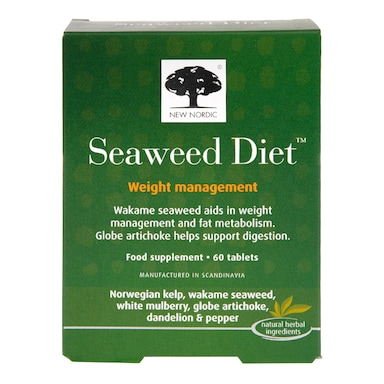 New Nordic Seaweed Diet Weight Management 60 Tablets