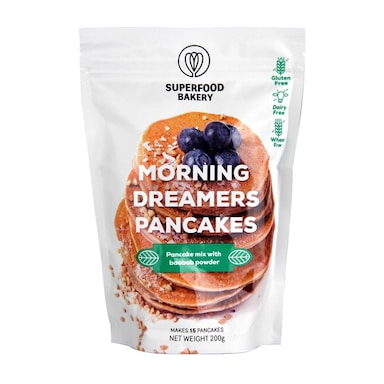 Superfood Bakery Morning Dreamers Pancakes Mix 200g