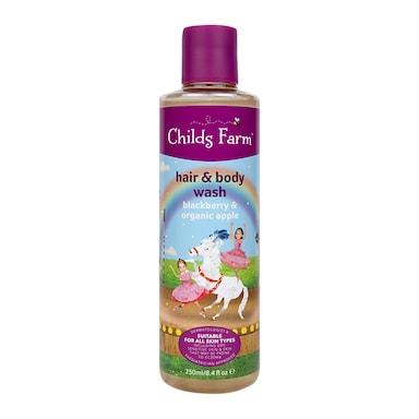 Childs Farm Blackberry & Organic Apple Hair & Body Wash 250ml