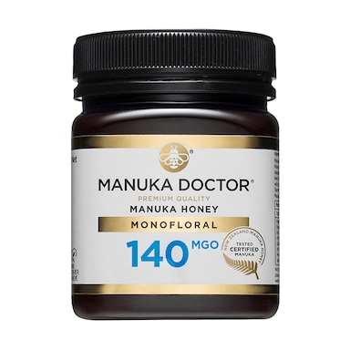 Manuka Doctor Premium Monofloral Manuka Honey MGO 140 250g