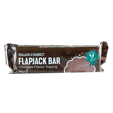 Holland & Barrett Chocolate Flavour Top Flapjack 60g