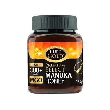 Pure Gold Premium Select Manuka Honey MGO 300 250g