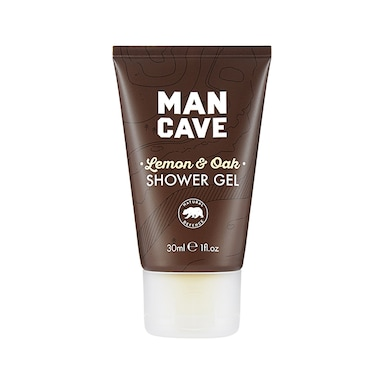 Mancave Lemon & Oak Shower Gel Travel Size 30ml