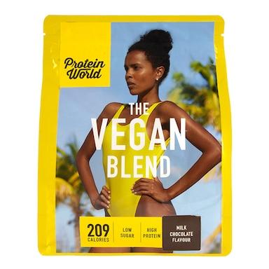 Protein World The Vegan Blend Chocolate Flavour 600g