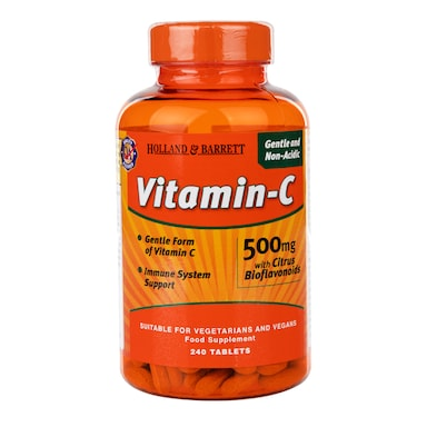 Holland & Barrett Gentle Non-Acidic Vitamin C 240 Tablets