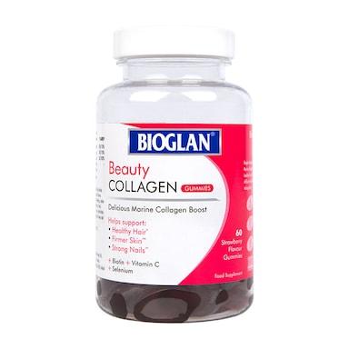 Bioglan Beauty Collagen 60 Strawberry Gummies