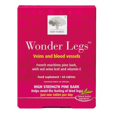 New Nordic Wonder Legs Veins & Blood Vessels 60 Tablets