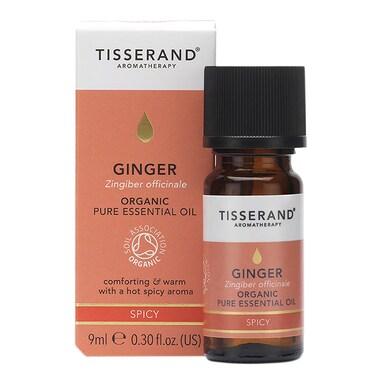 Tisserand Organic Ginger Essential Oil 9ml