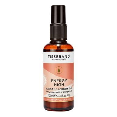 Tisserand Energy High Massage & Body Oil 100ml