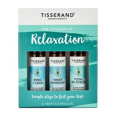 Tisserand Little Box Of Relaxation Rollerball Kit 3x10ml