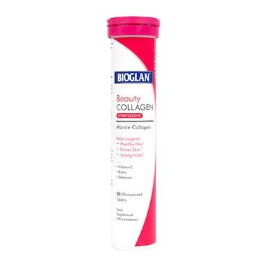 Bioglan Beauty Collagen Effervescent 20 Tablets