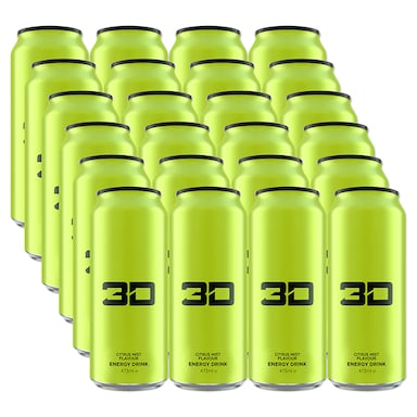 3D Energy Green Citrus Mist Box 24 x 473ml