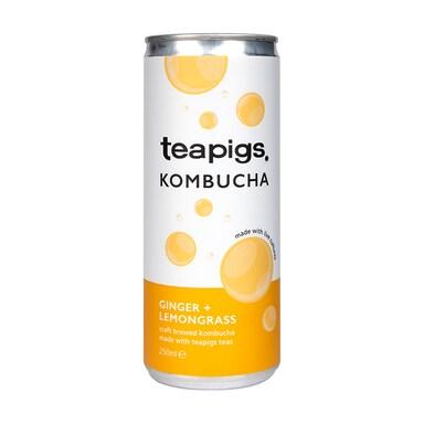 teapigs Lemongrass & Ginger Kombucha 250ml
