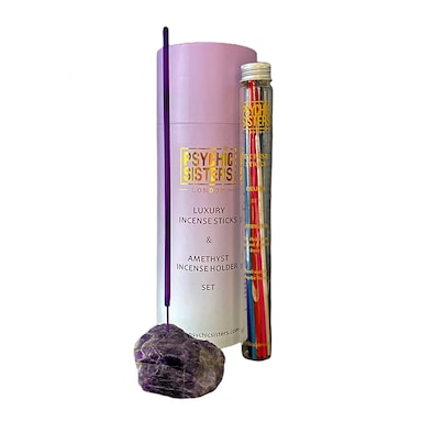 Psychic Sisters Amethyst Incense Gift Set