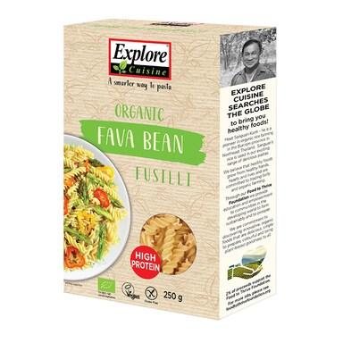 Explore Cuisine Organic Fava Bean Fusilli 250g