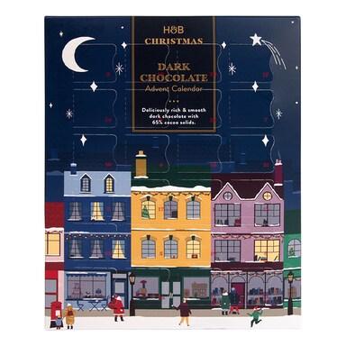 Holland & Barrett Dark Chocolate Advent Calendar 296g