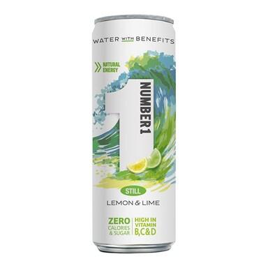Number1 Vitamin Water Still Lemon & Lime 250ml