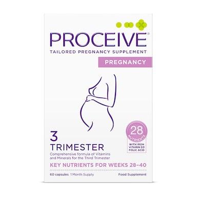 PROCEIVE® Pregnancy Trimester 3 60 Capsules