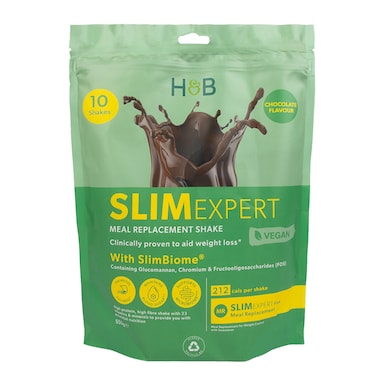 SlimExpert Meal Replacement Shake Chocolate Flavour 500g