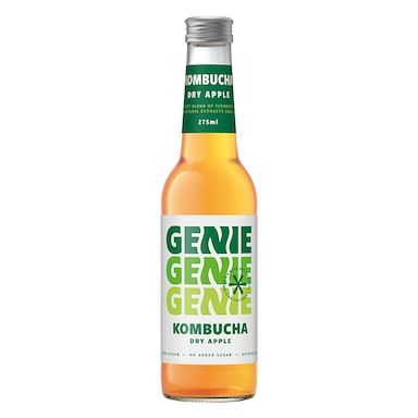Genie Kombucha Dry Apple 275ml