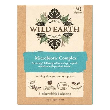 Wild Earth Microbiotic Complex 30 Capsules