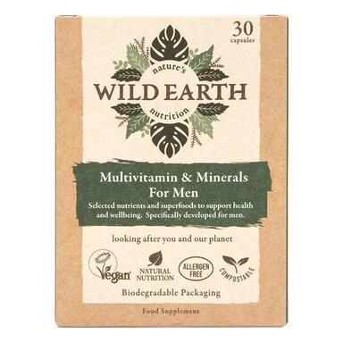 Wild Earth Multivitamin & Minerals For Men 30 Capsules