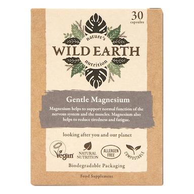 Wild Earth Gentle Magnesium 30 Capsules
