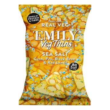 Emily Veg Thins Sea Salt 80g